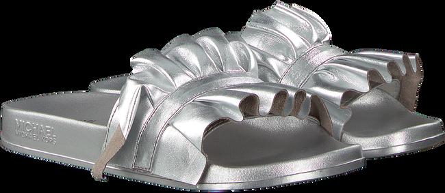 Zilveren MICHAEL KORS Slippers BELLA SPORT SLIDE - large