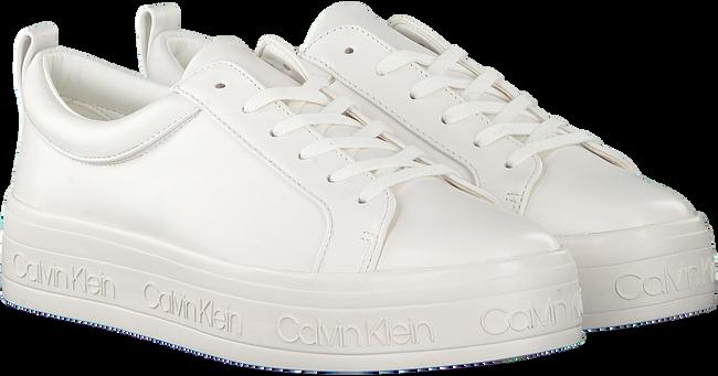 Witte CALVIN KLEIN Sneakers JAELEE  - large