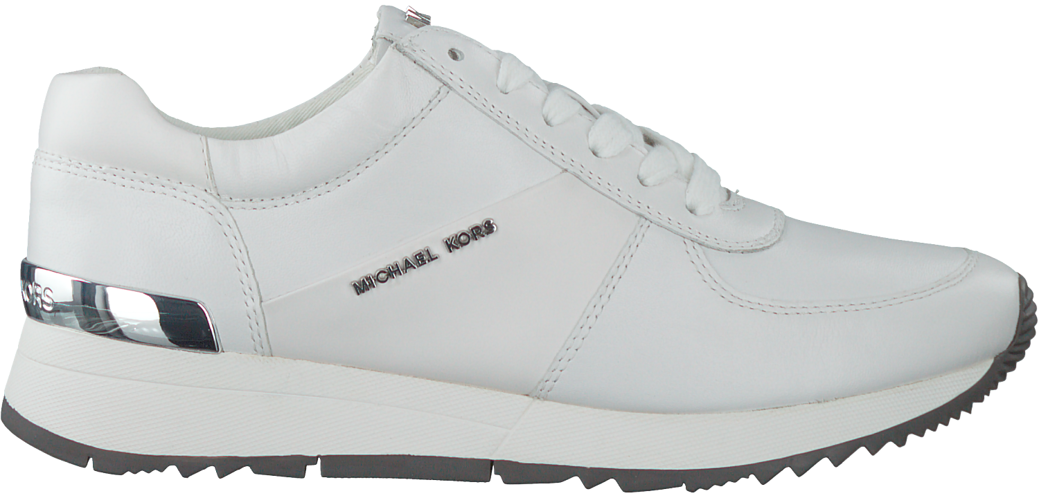 93f6d996f14 Witte MICHAEL KORS Sneakers ALLIE TRAINER - large. Next