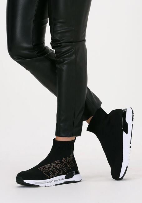 Zwarte VERSACE JEANS Hoge sneaker DYNAMIC DIS 23  - large