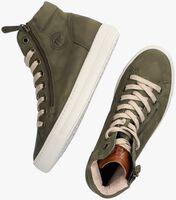 Groene PAUL GREEN Hoge sneaker 4024  - medium