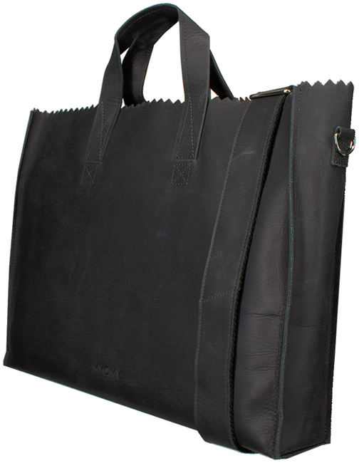 Zwarte MYOMY Laptoptas BUSINESS BAG - large