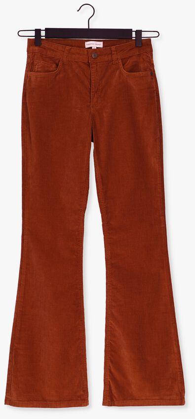 Cognac FABIENNE CHAPOT Flared broek EVA CURDUROY FLARE TROUSERS - larger