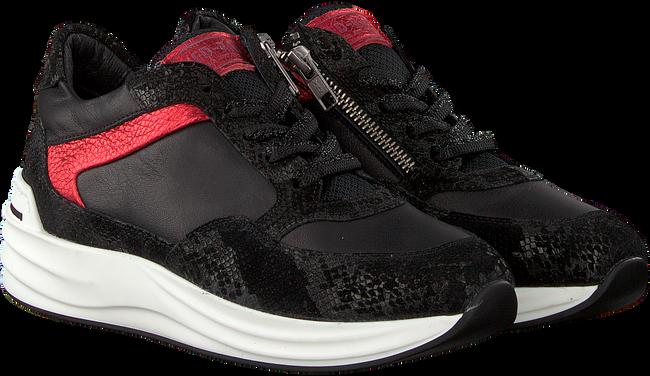 Zwarte RED-RAG Sneakers 76660  - large