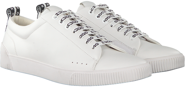 Witte HUGO Sneakers ZERO TENN NARB  - large