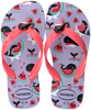 Paarse HAVAIANAS Teenslippers SLIM KIDS FANTASY  - small