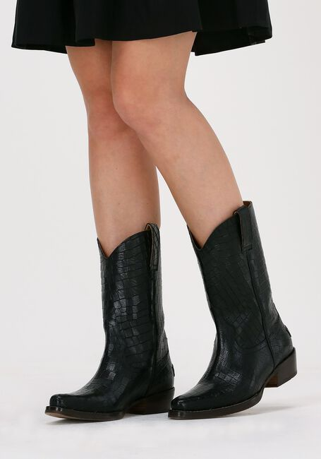 Zwarte SHABBIES Hoge laarzen 192020110  - large
