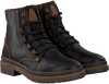 Zwarte GAASTRA Veterboots TRAVIS HIGH  - small
