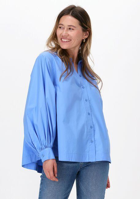 Blauwe SECOND FEMALE Blouse TOTEMA NEW SHIRT  - large