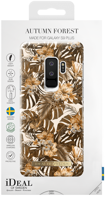 Bruine IDEAL OF SWEDEN Telefoonhoesje FASHION CASE GALAXY S9 PLUS - large