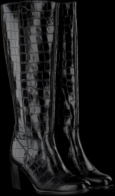Zwarte GABOR Lange laarzen 569.1   Omoda