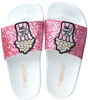 Roze THE WHITE BRAND Slippers GLITTER KIDS - small