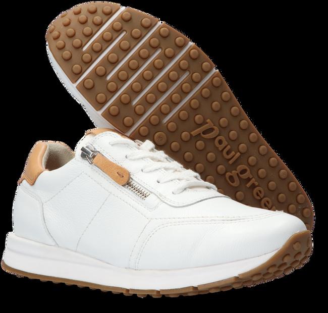 Witte PAUL GREEN Lage sneakers 4085  - large