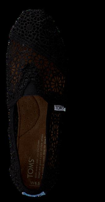 Zwarte TOMS Espadrilles MAROCCO CROCHET  - large