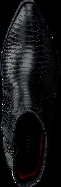 Zwarte NOTRE-V Enkellaarsjes 05A-202  - large