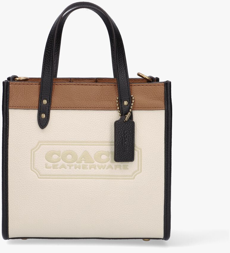 Witte COACH Handtas FIELD TOTE 22  - larger