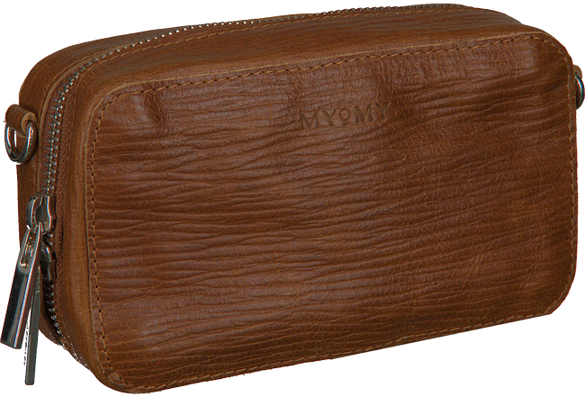 Bruine MYOMY Schoudertas MY BOXY BAG CAMERA - large