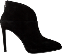 Zwarte LOLA CRUZ Enkellaarsjes 275T30BK-D-I19  - medium