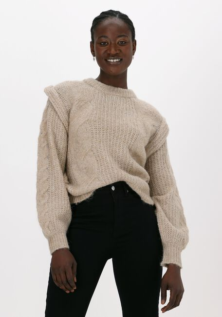 Camel OBJECT Trui PEACHES KNIT PULLOVER  - large