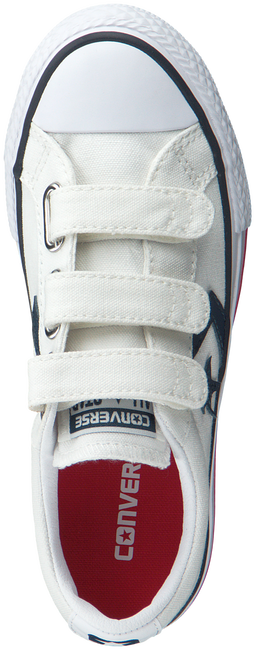 Witte CONVERSE Sneakers STAR PLAYER EV TRIPLE V OX KID  - large