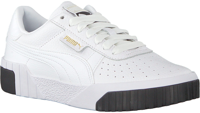 Witte PUMA Sneakers CALI WN'S   Omoda