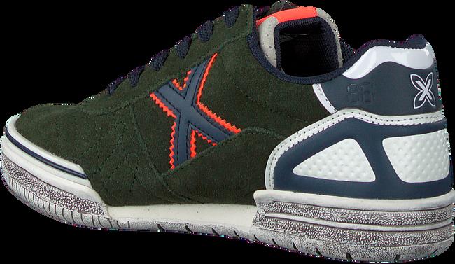 Groene MUNICH Lage sneakers G3 LACE  - large