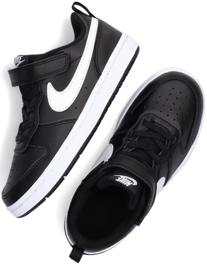 Zwarte NIKE Lage sneakers COURT BOROUGH LOW 2 (PS)  - larger