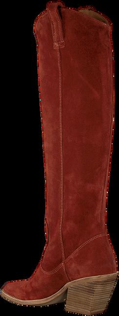 Rode BRONX Lange laarzen LOW-KOLE 14188  - large