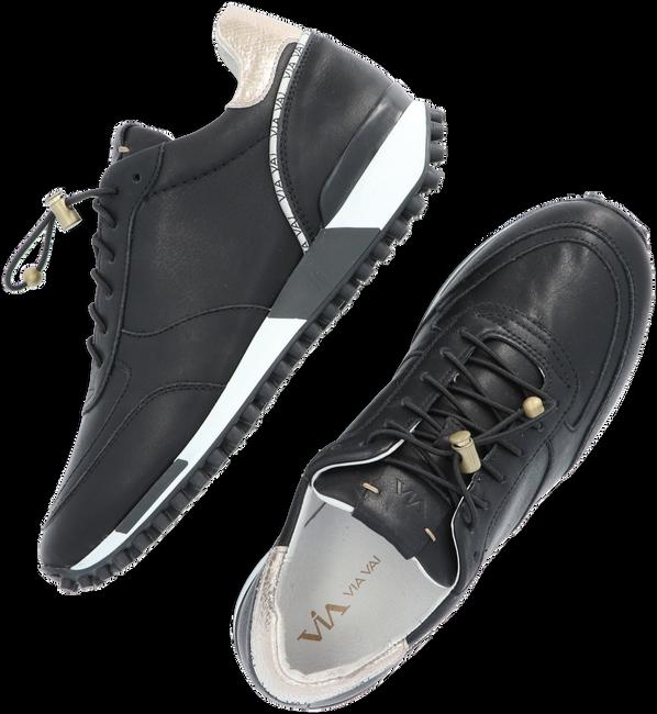 Zwarte VIA VAI Lage sneakers GIULIA BASE  - large