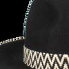 Zwarte NIKKIE Hoed MOTOR WESTERN HAT  - small