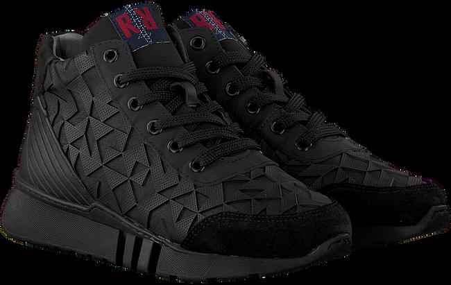 Zwarte RED-RAG Sneakers 13375  - large