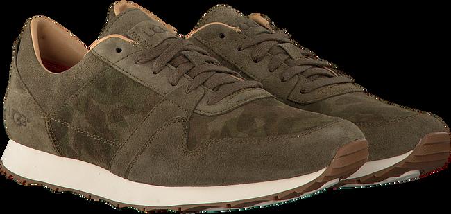 Groene UGG Sneakers TRIGO SUEDE CAMO - large