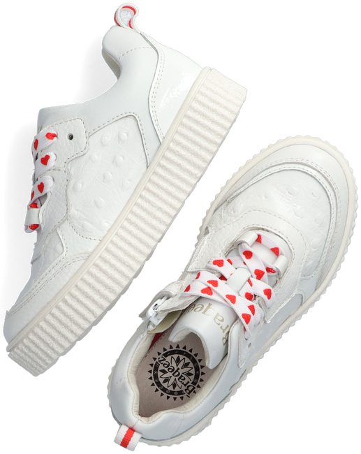 Witte BRAQEEZ Lage sneakers PAI PARIS  - large
