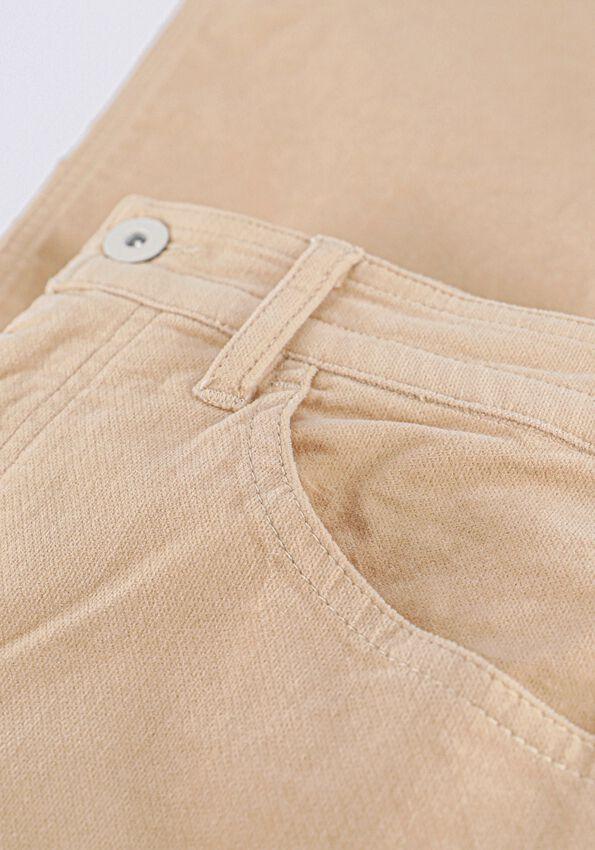 Blauwe VANILIA Pantalon PEAU DE PEC - larger