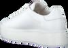 Witte NUBIKK Sneakers ELISE PERFO  - small