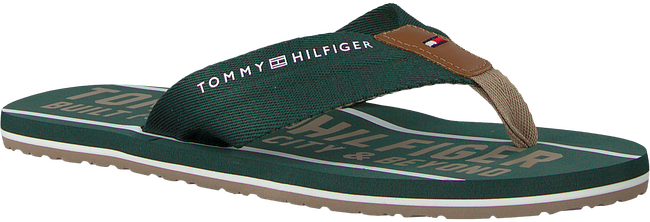 Groene TOMMY HILFIGER Slippers SMART TH BEACH SANDAL - large