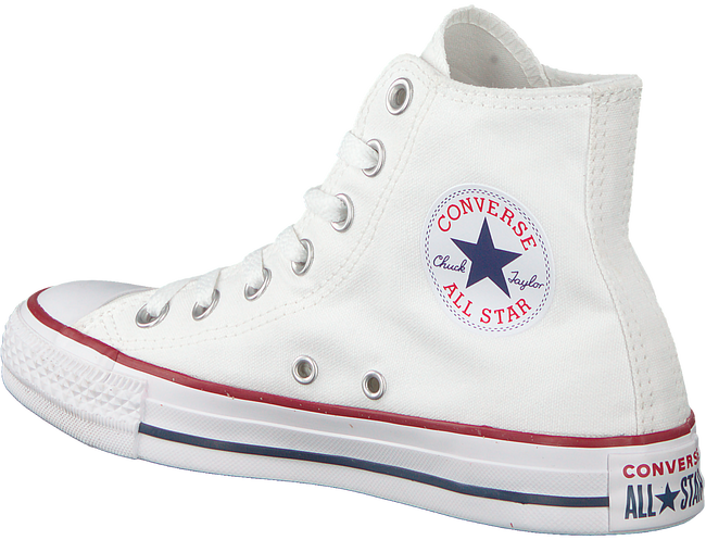 Witte CONVERSE Sneakers CHUCK TAYLOR ALL STAR HI DAMES - large