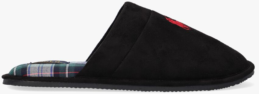 Zwarte POLO RALPH LAUREN Pantoffels KLARENCE  - larger