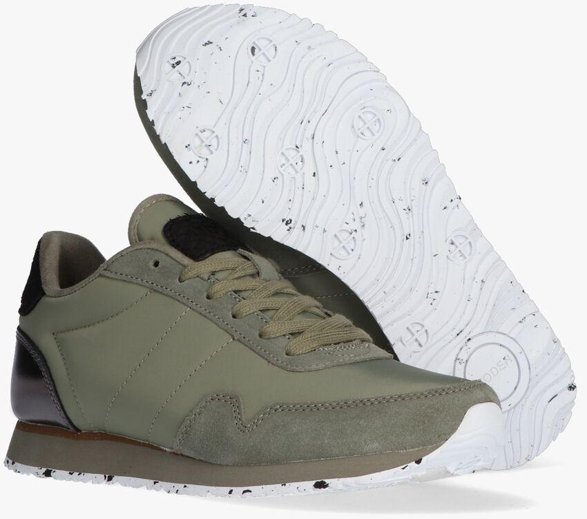 Groene WODEN Lage sneakers NORA III  - larger