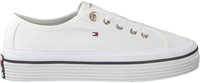 Witte TOMMY HILFIGER Sneakers CORPORATE FLATFORM - medium