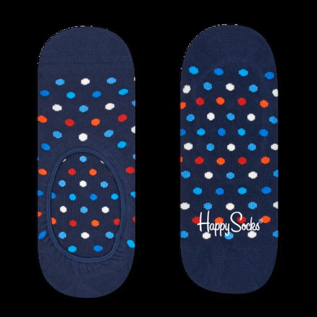 Blauwe HAPPY SOCKS Sokken DOT LINER  - large