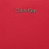 Rode CALVIN KLEIN Portemonnee FRAME MEDIUM ZIP - small