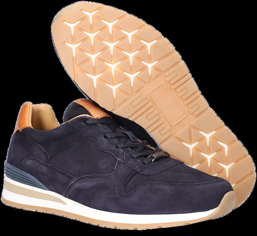 Blauwe MAZZELTOV Lage sneakers 11742  - larger