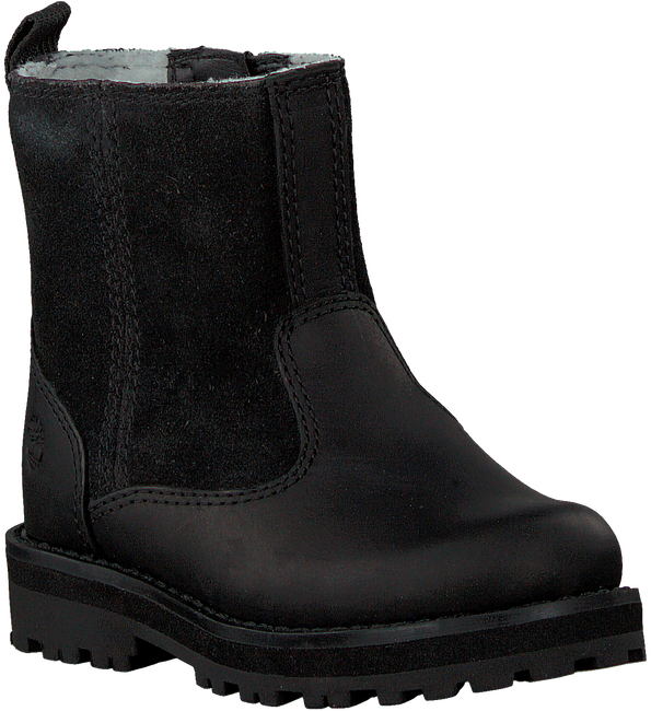 Zwarte TIMBERLAND Enkelboots COURMA KID WARM LINED BOOT  - large