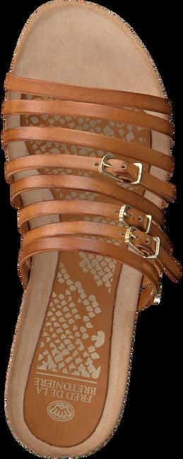 Bruine FRED DE LA BRETONIERE Slippers 170010139 FRS0385  - large