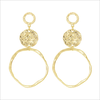 Gouden MY JEWELLERY Oorbellen VINTAGE STATEMENT EARRINGS - small
