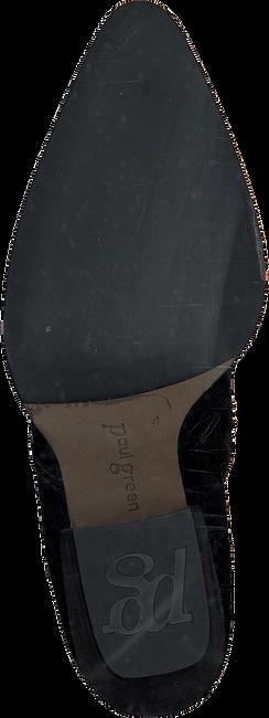 Zwarte PAUL GREEN Enkellaarzen 9666  - large