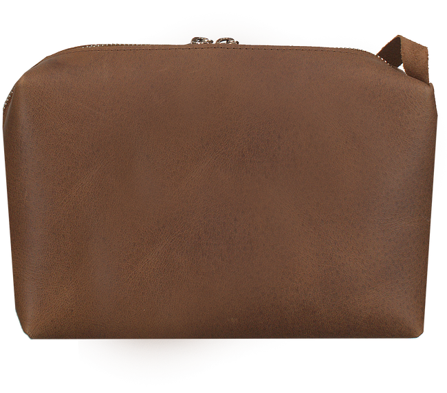 Bruine MYOMY Schoudertas MY BLACK BAG - large