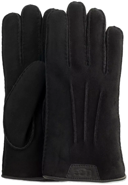 UGG HANDSCHOENEN CASUAL GLOVE WITH LEATHER LOGO - large
