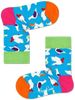 Blauwe HAPPY SOCKS Sokken KIDS PIGEON SOCK  - small